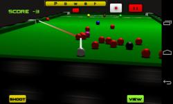 Snooker 3D screenshot 2/2