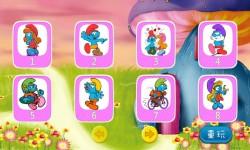 Smurfs play coloring screenshot 1/5