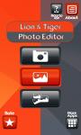 Lion And Tiger Photo Editor screenshot 1/6