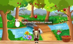 Catch the Apples Newton Game screenshot 1/3