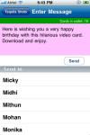 Greet Hub : Mobile Video Greetings screenshot 4/5