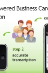 CardMunch - Human Powered Transcription - 100% Accurate Business Reader and Business Card Scanner + LinkedIn Integration screenshot 1/1