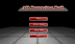 Bouncing Ball 3D  Free screenshot 2/6