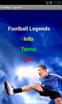 Great Football Legends screenshot 2/3