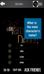 Vampire Diaries Quiz Game screenshot 4/6