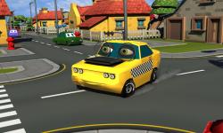 Crazy Talking Taxi Driver game screenshot 3/4