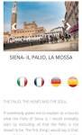 Palio di Siena Photography App screenshot 1/3