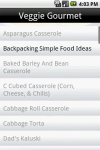 200 Vegetarian Recipes screenshot 3/6