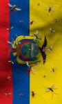 Ecuadore flag lwp Free screenshot 2/5