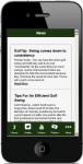 Golf Tips For Beginners screenshot 2/5