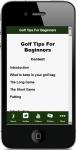 Golf Tips For Beginners screenshot 5/5