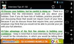 100 Interview Tips 2014 screenshot 3/3