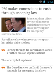 The Guardian News Reader Lite screenshot 3/6