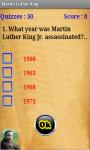 Martin Luther King Quiz screenshot 2/4