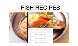 Fish recipes food screenshot 1/3