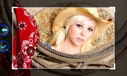 Cowboy Photo Frames screenshot 5/6