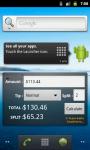 Tip Calculator Widgets screenshot 1/4