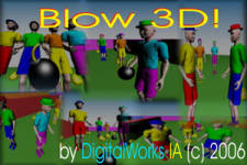Blow3D screenshot 1/1
