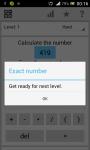 Calculate the Exact Number screenshot 2/4