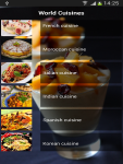 World Cuisines screenshot 1/5