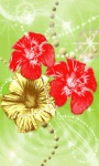 Three Flower Live Wallpaper screenshot 3/3