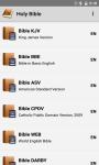 Holy Bible: KJV BBE ASV LSG screenshot 1/6