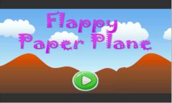 Flappy Paper Plane screenshot 1/5