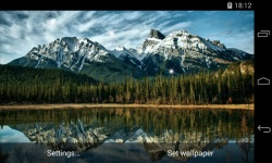 Landscapes Mountains Live Wallpaper screenshot 1/4