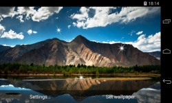 Landscapes Mountains Live Wallpaper screenshot 3/4