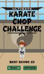 Ultimate Karate Chop Challenge screenshot 1/4
