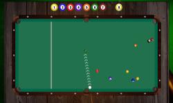 9 ball pro billiard screenshot 2/6