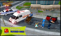 Ambulance Simulator Game screenshot 1/3