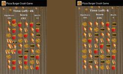 Pizza Burger Crush Game Free screenshot 3/3