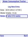 Water Consumption Guide Free screenshot 5/5