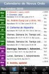 iPieta Espaol (Catholic Teaching, Calendar, and Prayer) screenshot 1/1