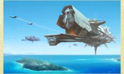 Spaceship Sci-fi Wallpapers screenshot 2/5