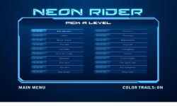 Neon Rider screenshot 2/3