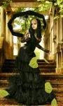 Beauty In Black Live Wallpaper screenshot 2/3