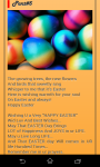 Easter SMS screenshot 3/4