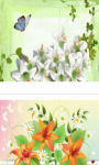 Spring and Pink Easter Lilies wallpaper HD screenshot 2/3