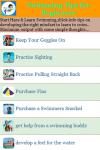 Swimming Tips for Beginners screenshot 2/3