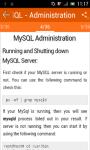 Learn MySQL screenshot 2/3