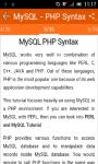 Learn MySQL screenshot 3/3