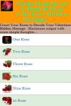 Count Your Roses to Decode Your Valentines Hidden  screenshot 2/3