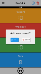 Tabata Timer - Simple Touch screenshot 2/5