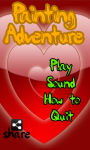 Painting Adventure Valentines Day Card screenshot 1/4