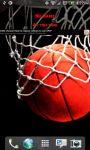 San Antonio Basketball Scoreboard Live Wallpaper screenshot 1/4