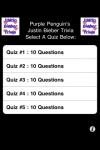 Justin Bieber Trivia - FREE screenshot 1/1