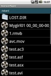 Seaman Video Player Free screenshot 1/2