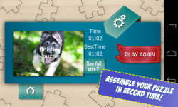 Free Dogs Jigsaw Puzzle screenshot 5/6